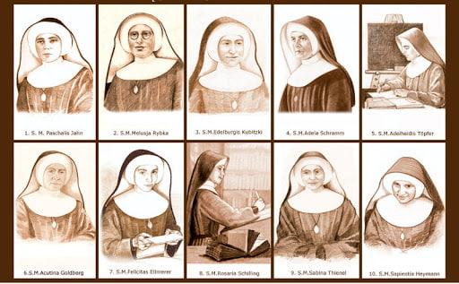 Monjas mártires de Silesia