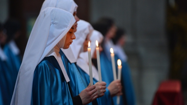 Hermanas Adoratrices del Real Corazón de Jesucristo.