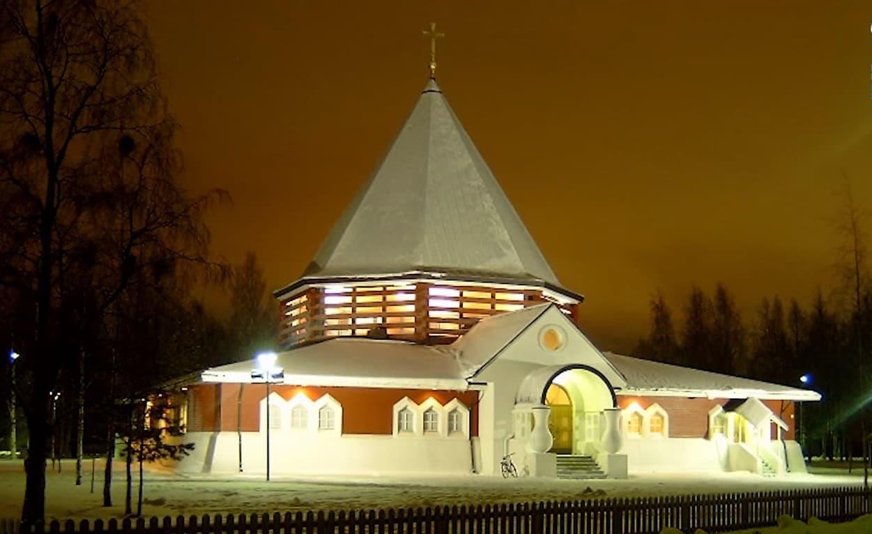 Iglesia católica de Oulu