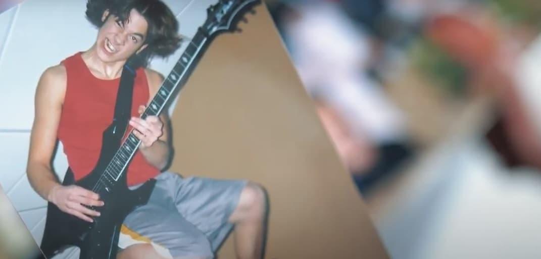 Adam Rieger de joven guitarrista metal