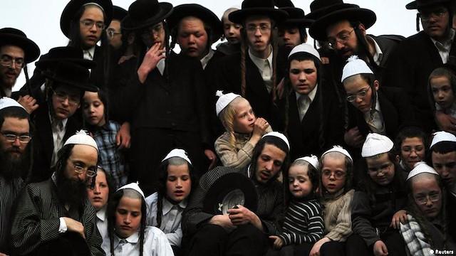 Judíos ultraortodoxos.