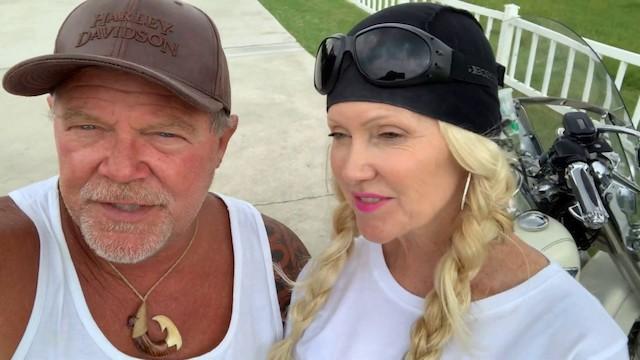 Bear Woznick y su esposa Cindy.
