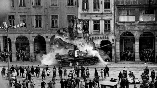 Tanque del Pacto de Varsovia.