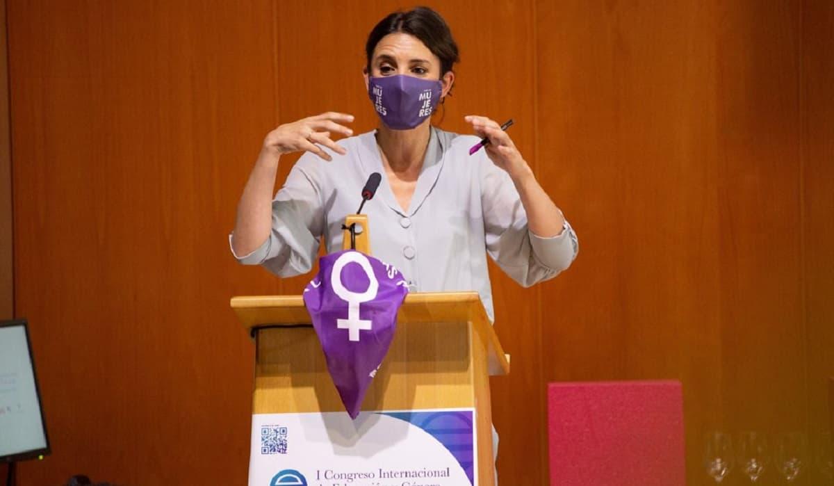 Irene Montero, ministra