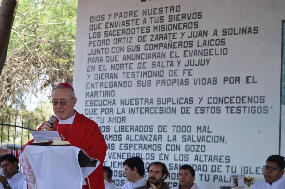 Celebran a los mártires del Zenta en 2017 en su santuario en Argentina