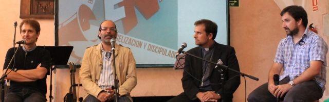 Josué Fonseca, Miguel Horacio, Mons. Novell y Tote Barreda