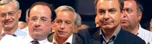 Hollande (izq.) y Zapatero (dcha.), matrimonio gay sin referéndum