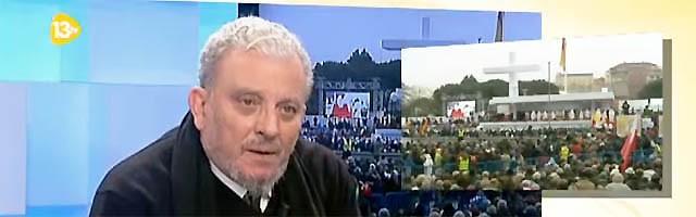 Kiko Argüello fue entrevistado en 13tv por Isabel Durán, Margarita García y José Beltrán.