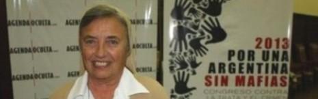 Martha Pelloni es una activa combatiente contra la explotación sexual