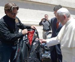 Y Davidson Su Subasta De Papa Moto Cuero Harley El Chaqueta Z4YPwy