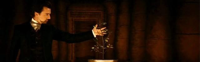 El Ilusionista, dirigida en 2006 por  Neil Burger y protagonizada por Edward Norton, Paul Giamatti y Jessica Biel: el mundo de la prestidigitación.