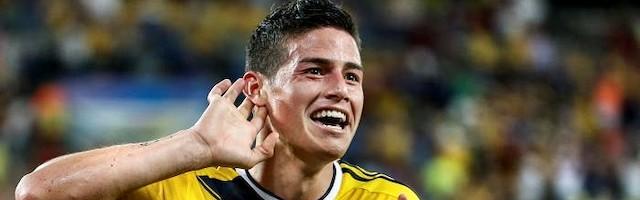 El jugador colombiano puede haber marcado el mejor gol de Brasil 2014.