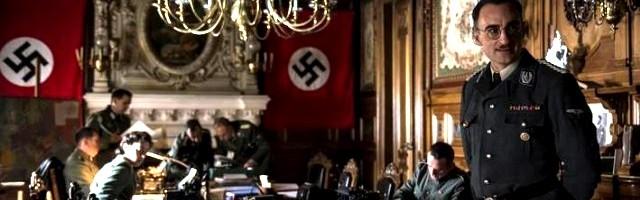 Himmler en la teleserie española de aventuras fantásticas El Ministerio del Tiempo... pero en la vida real sí fue a Montserrat