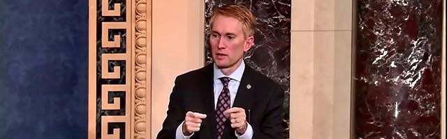 James Lankford, senador por Oklahoma, puso los argumentos abortistas ante sus más flagrantes contradicciones.