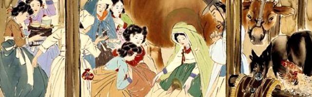 8 Momentos De La Vida De Cristo Con La Virgen María Dibujados Con