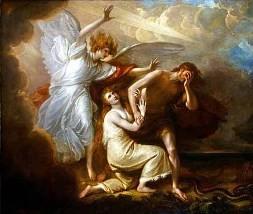 Expulsión de Adán y Eva.