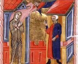 El ángel cubre a Inés.