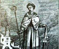 San Emer, abad.