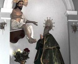 Imagen venerada en Comitán de Domínguez.