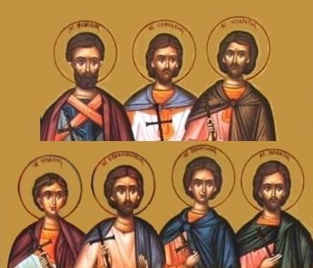 Los Santos Mártires.