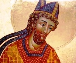 Den hellige biskop Bosa av York