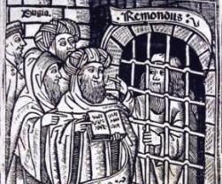 Raimundo encarcelado predica a los moros.