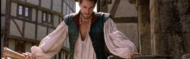Joseph Fiennes interpreta a un joven Shakespeare en la película Shakespeare in Love
