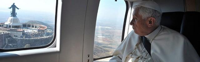 Benedicto XVI en su agotador viaje de 2012 a México y Cuba - allí comprendió su fragilidad en viajes transatlánticos