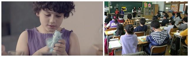 Los niños recibieron una charla y visionaron un vídeo que refleja a la perfección la ideología de género