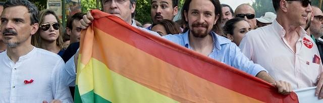El proyecto ha sido redactado por la Federación estatal de Lesbianas, Gays, Transexuales y Bisexuales (FLFTB) y presentado en el Congreso por Podemos