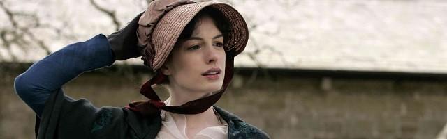 Anne Hathaway protagonizó en 2007 Becoming Jane La joven Jane Austen, Amor verdadero, de Julian Jarrold.