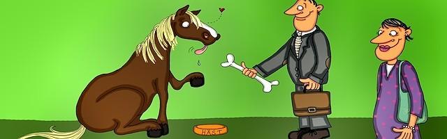 El caballo que se creía perro: una forma declarada de introducir la idea de que el sexo de cada cual es materia de libre elección.