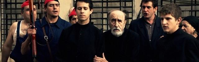 Un fotograma de la película Un Dios Prohibido, sobre los mártires seminaristas de Barbastro