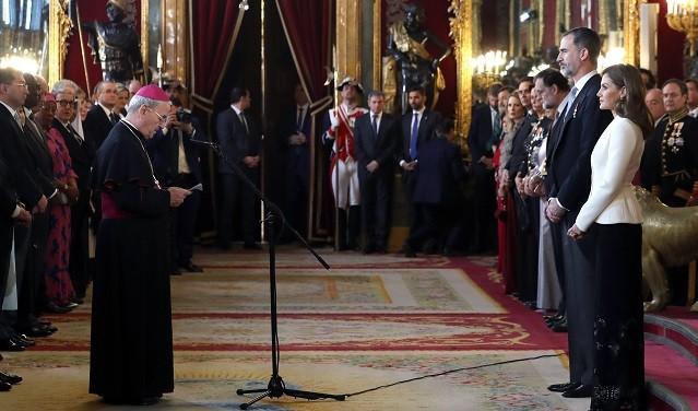 El Nuncio mostró al Rey el apoyo de la Santa Sede aunque no habló expresamente de Cataluña