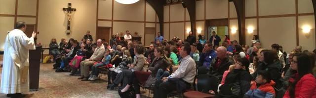 En San Juan Nepomuceno, Oklahoma, hay bastante gente... pero se trata de convertirlos en discípulos y evangelizadores