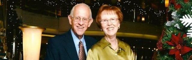 Van Atkins y su esposa Maureen... ambos son fruto de la generosidad de quienes les precedieron