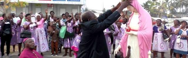La devoción a la imagen de estas supuestas apariciones tiene cierto grado de reconocimiento de la jerarquía local en Abiyán