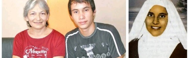 La doctora Blanca, obstetra, el joven Ángel, niño del milagro y Chiquitunga, primera beata de Paraguay