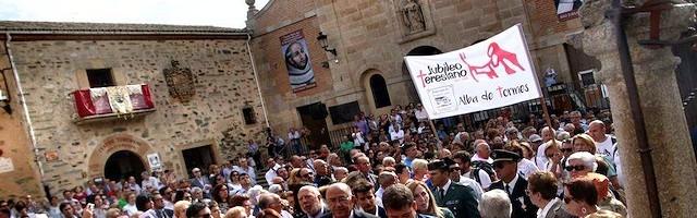 El 15 de octubre de 2017 se abrió oficialmente el Año Jubilar Teresiano. Foto: Salamanca RTV Al Día.