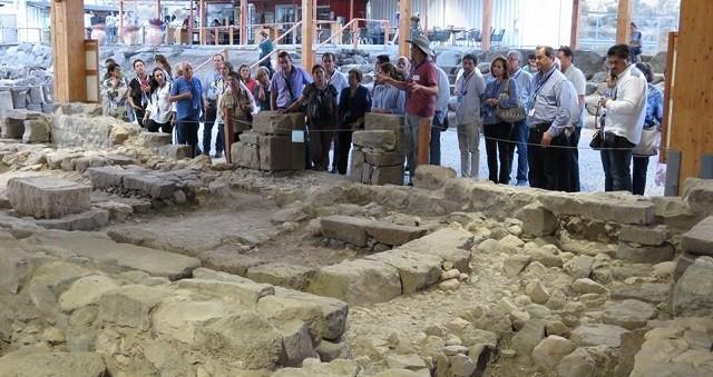 Los judíos de Israel son ya el segundo grupo más numerosos de visitantes que visitó Magdala el pasado año