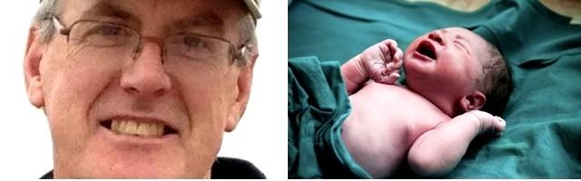 Bill Dunn era ateo... hasta que nació un bebé que le hizo replantearse el misterio de la vida