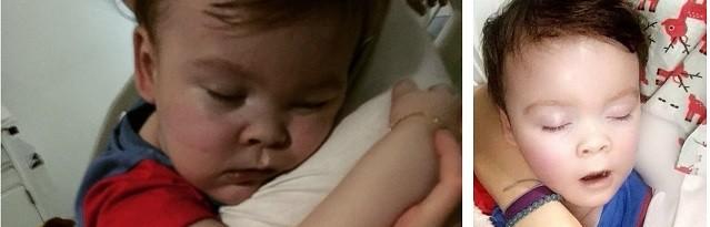 Miles de personas en todo el mundo rezan por Alfie y por sus padres una vez desconectado del respirador.