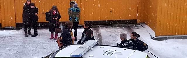 Una intervención del temible Barnevernet, un servicio noruego de bienestar infantil acusado de arrancar a hijos de sus padres con criterios indescifrables.