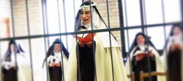 Teresa realizó los votos perpetuos el pasado 1 de mayo en las carmelitas descalzas de Huesca