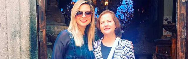 Patricia Sandoval y su madre, ambas encontraron a Dios después de vidas difíciles