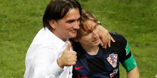 Dalic, seleccionador croata, se ha convertido en el pilar del equipo junto al capitán, Luka Modric