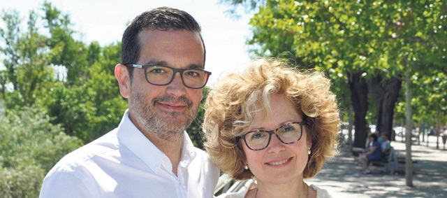 Jorge Gutiérrez y  Pepa Robres son en este momento responsables de la Misión Caná en España.