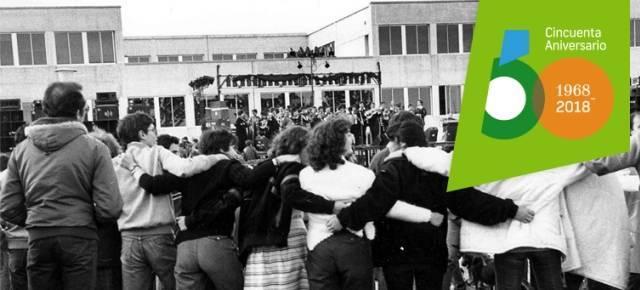 Una fiestecilla en 1983 en la Universidad Autónoma de Madrid... ahora cumple medio siglo