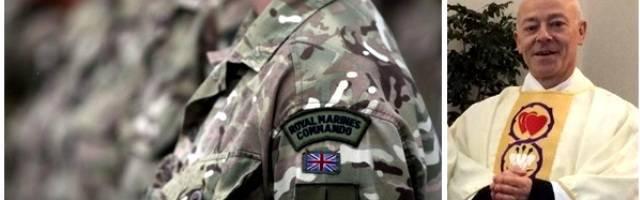 De ser boina verde y capellán anglicano con los Royal Marine a cura católico en Escocia