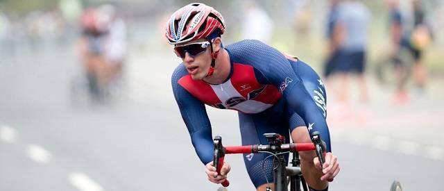 Ryan Boyle consiguió la medalla de plata en los Juegos Paralímpicos de Río en 2016
